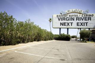 The Oasis casino in Mesquite, owned by Black Gaming, temporarily closed its doors in December 2008. The highway billboard for Oasis now advertises Virgin River, another one of Black Gaming's casinos in Mesquite.