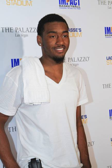 John Wall at Lagasse's Stadium in the Palazzo on Sept. ...
