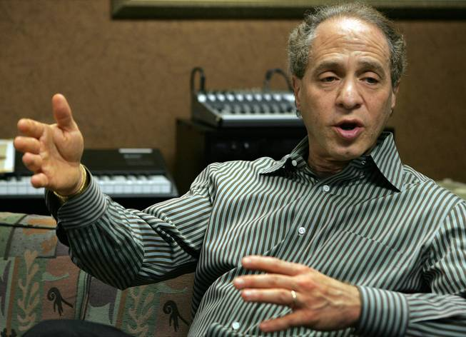 Author and inventor Ray Kurzweil, 56, speaks with a reporter during an interview in his office, in Wellesley, Mass., Jan. 12, 2005.