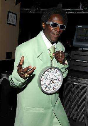 Flavor Flav at Hard Rock Cafe Strip