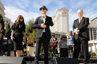 Matt Goss announces his residency at Caesars Palace on Jan. 28, 2010.