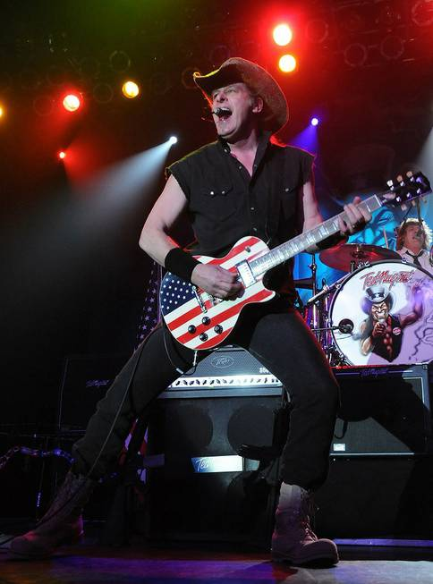 Ted Nugent performs in Ovation Lounge at Green Valley Ranch ...