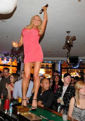 Mary Carey @McFadden's