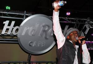 Bobby Brown at the Hard Rock Cafe