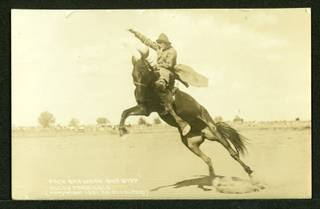 Jack Brown on One Step, Rocky Ford, Colorado, 1921.