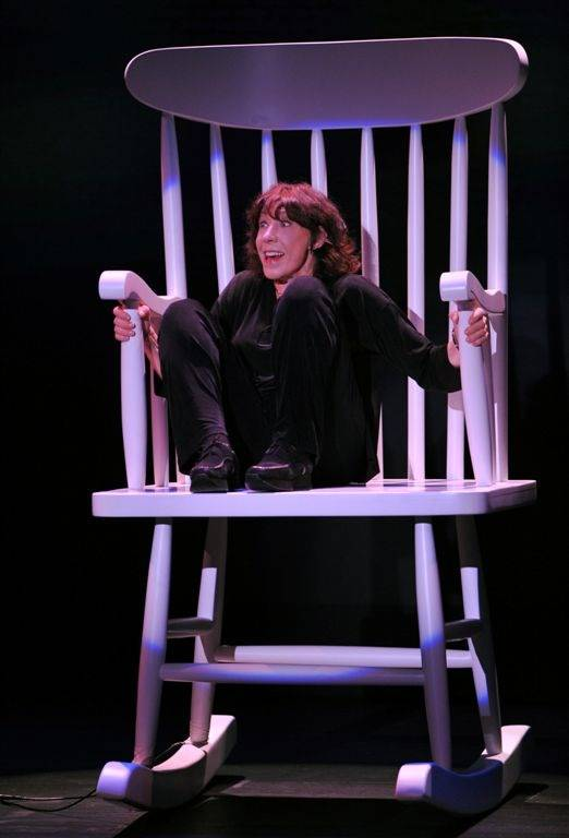 Lily Tomlin performs at the MGM Grand's Hollywood Theater.