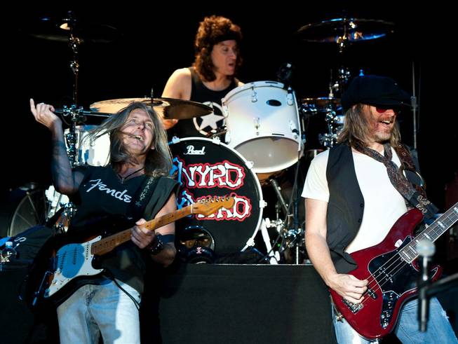 Lynyrd Skynyrd at M Resort on Sept. 16, 2011.