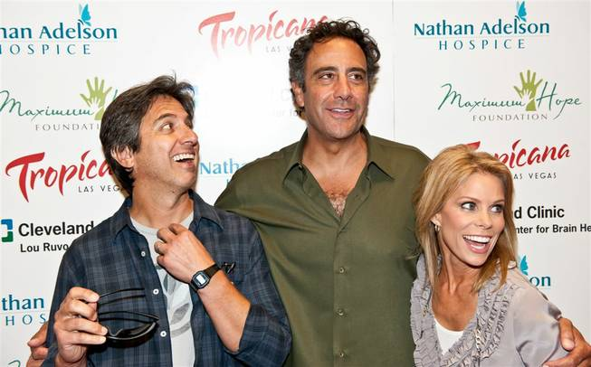 Brad Garrett's Maximum Hope Foundation Poker Tournament included Annie Duke, Jason Alexander, Ray Romano, Larry and Camille Ruvo, Cheryl Hines and Jose Canseco at the Tropicana on Sept. 17, 2011.