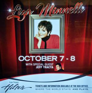 Liza Minnelli at the Las Vegas Hilton