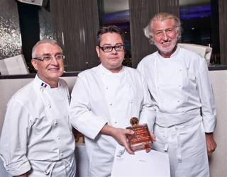 The Jean-Louis Palladin dinner at Alize in the Palms on Oct. 16, 2011.