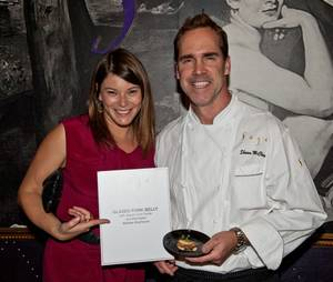 The <em>Food & Wine Top Chefs</em> All-Star Tasting hosted by Gail Simmons at Aria on Oct. 22, 2011.