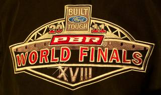 The first day of the 2011 PBR World Finals at the Thomas & Mack Center on Oct. 26, 2011.