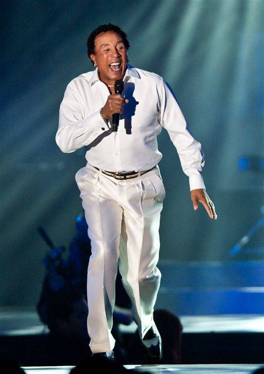 Smokey Robinson performs during the Andre Agassi Grand Slam for Children benefit gala at Wynn Las Vegas on Oct. 29, 2011.