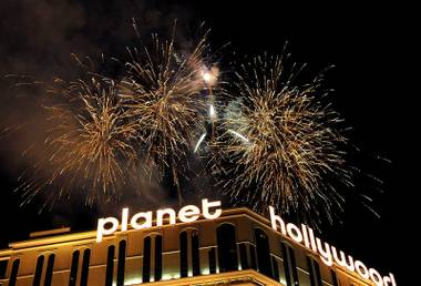 Tens of thousands of revelers jammed the Strip and other prime viewing areas for the midnight pyrotechnics that welcomed in 2010. The ...