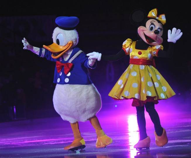 The Las Vegas premiere of <em>Disney On Ice</em> at the Thomas & Mack Center on Jan. 20, 2010.