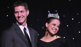 Brian Irk proposed to his girlfriend of four years, 2009 Miss America Katie Stam, at the Evening of Dreams gala in Planet Hollywood on Jan. 29, 2010. Katie said yes.