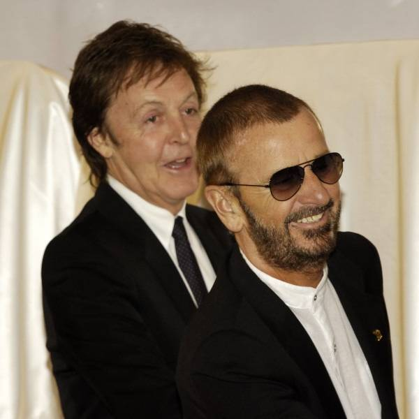 Paul McCartney and Ringo Starr.