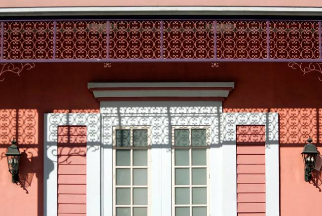 Some architectural elements of The Orleans are made from construction foam. The Orleans has never caught fire.