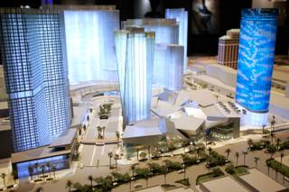 Models of the CityCenter Las Vegas project are artworks in themselves. The models are on display at their sales office off Las Vegas Boulevard South in Las Vegas.