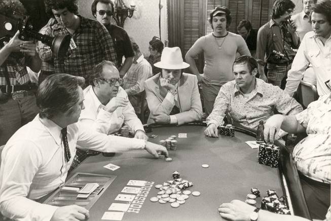 Even though 22 men entered the Seventh World Series of Poker at Binion's Horsehoe, it was Doyle Brunson that walked away victorious. To enter the tournament, held in 1976, players paid $10,000. Brunson walked away with $220,000.