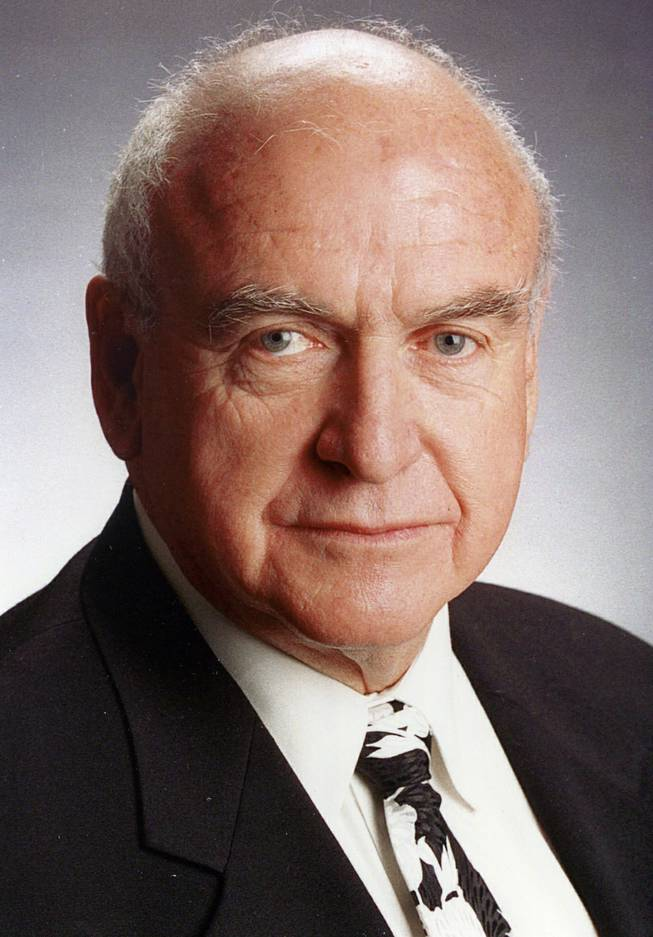Mike O'Callaghan, Governer of Nevada from 1970-1978, and an editor at the Las Vegas Sun.