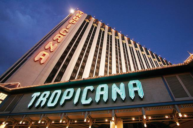 A view of the Tropicana on the Las Vegas Strip, May 5, 2008.