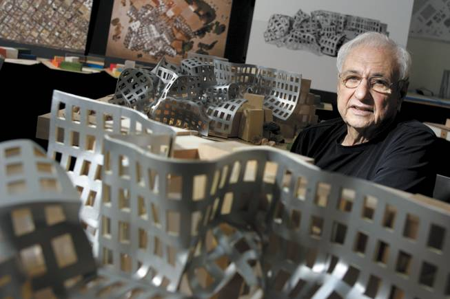 How does a Gehry fit in? Some say the only thing that goes with a Frank Gehry designed building, such as the Lou Ruvo Brain Institute, is another Gehry design, such as the Walt Disney Concert Hall in Los Angeles. Several Gehry-designed buildings have become major tourist attractions.
