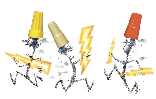 Flash! Stealing electricity is risky business - Las Vegas