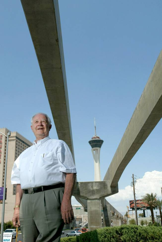 The logical candidate: The late Robert Broadbent is former president of the Las Vegas Monorail and former commissioner of the U.S. Reclamation Department. He was Pat Mulroy's main competition in 1989 for the top job at the Las Vegas Valley Water District.