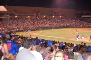 The Las Vegas 51s game and Fourth of July celebrations brought close to 12,000 fans to Cashman Field, the largest crowd this season. The 51s lost to the Salt Lake Bees, 9-6.