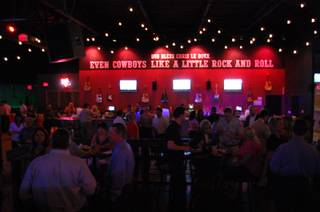 The Clark County and Nevada Republican parties held a watch party at Stoney's in Las Vegas for community members and candidates to keep track of who was winning as election results came in.