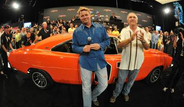 John Schneider at the 2009 Barrett-Jackson Auction at Mandalay Bay.