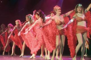 Sun City Anthem Jazz Dancers perform the opening number to the music of