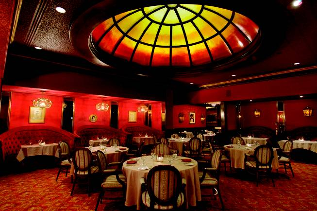 Steakhouse inside Binion's.