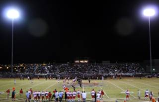 The Valley Vikings came to Frank Nails field Friday night to face off against the Las Vegas Wildcats.