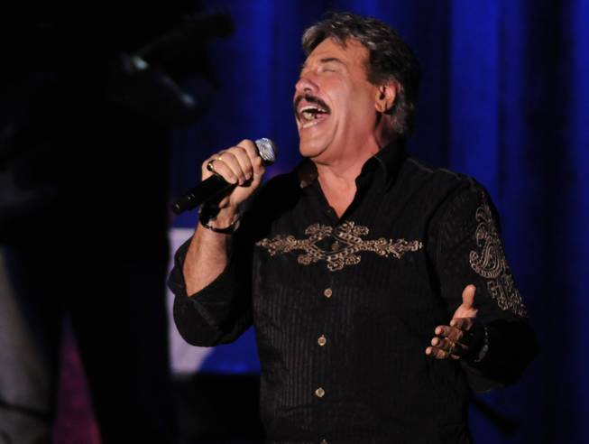 Tony Orlando performs a show Saturday to benefit Opportunity Village inside the showroom at South Point.