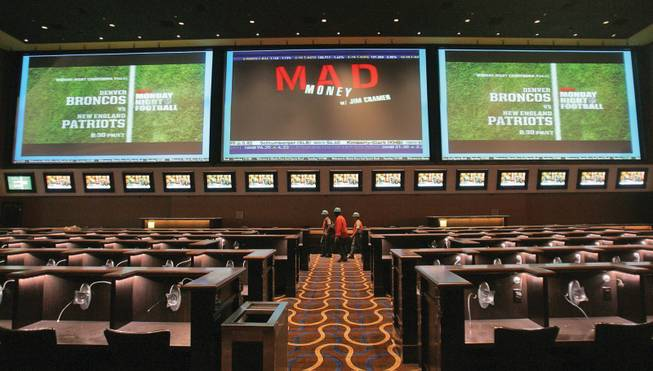 The 170-seat Race and Sports Book at Aliante Station Hotel and Casino features three large screen televisions and dozens of plasma TV's throughout.  The casino is set to open Nov. 11.