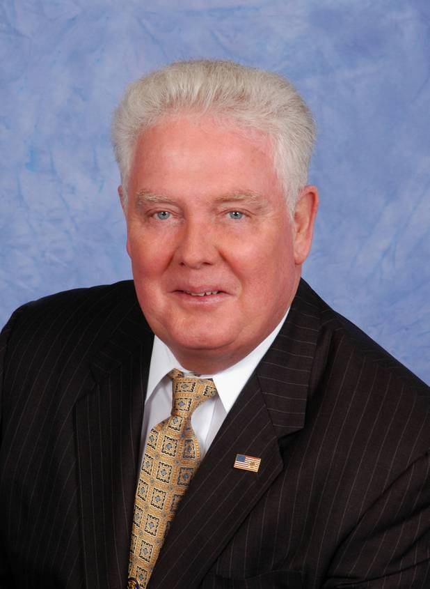 Assemblyman John Hambrick of the 77th (2013) Nevada Assembly District.