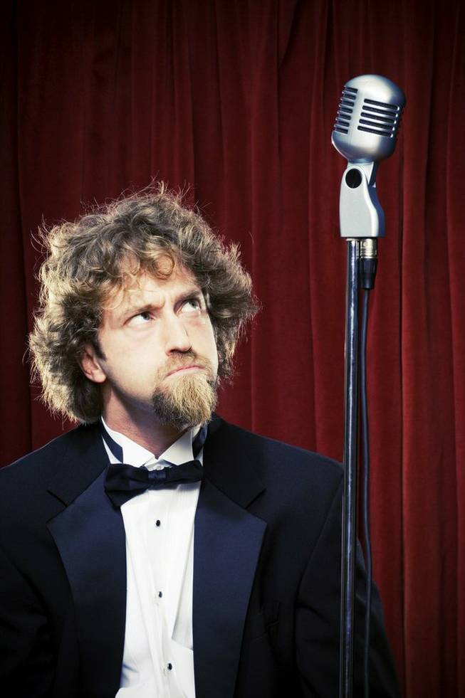 Josh Blue: Microphone, I own you.
