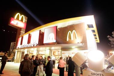 The new Viva McDonald's restaurant will open its doors at 2896 S. Las Vegas Boulevard on Dec. 11.