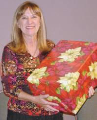 Judy Doyle, a member of Desert Springs United Methodist Church in Summerlin, is one of the coordinators of this year's holiday drive benefiting the Head Start program.
