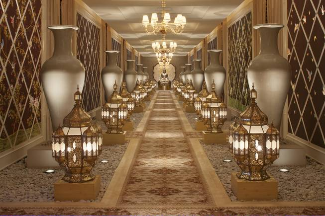 The spa treatment hall within Encore Las Vegas.