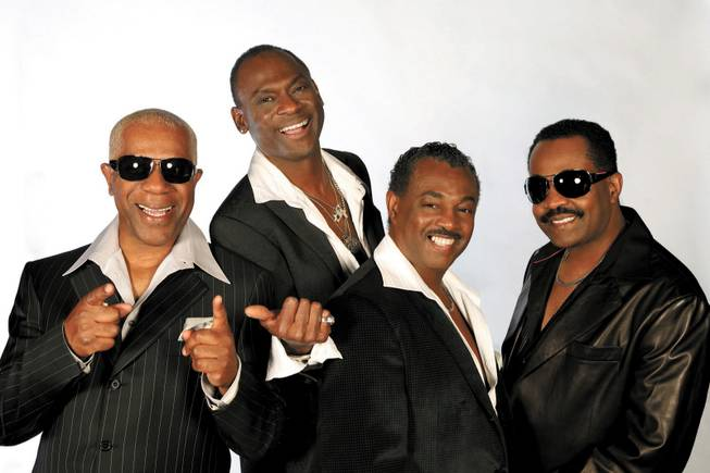 "Members of Kool & the Gang are from left, Dennis Thomas, George Brown and brothers Robert ""Kool"" Bell and Khalis Bayyan."