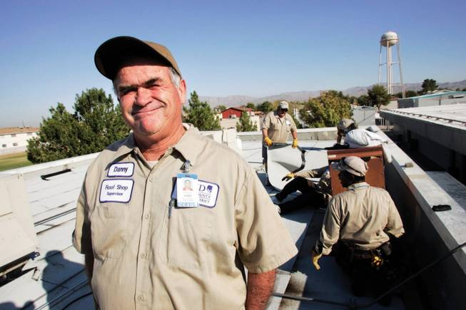 Clark County School District roofing supervisor Danny Hurd earned $61,426.14 last year in overtime, but the district says the reality is it's cheaper to pay Hurd and other workers overtime than to bring in more employees, and have to pay benefits on top of salaries.