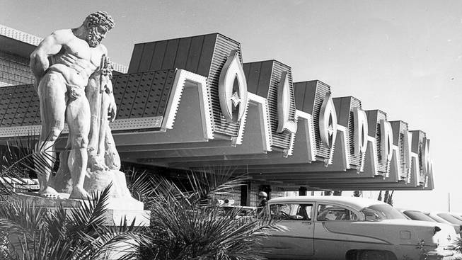 The Aladdin opened in 1962. It was a resort motel without a casino.