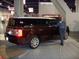 Ford Flex Demo Car for Gracenote booth