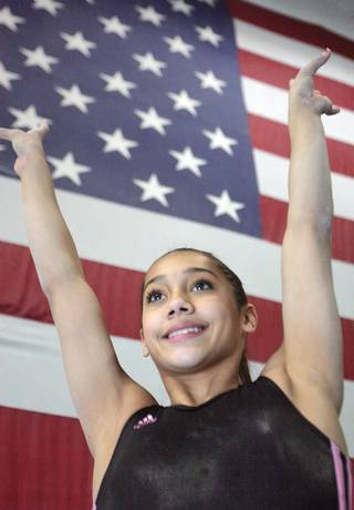 After making the USA Gymnastics team, Asi Peko is now one of the top 20 gymnasts in the country. A Henderson resident, Peko has her first competition with Team USA Saturday at the South Point Hotel and Casino.
