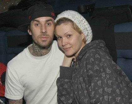 Travis Barker and Shanna Moakler.