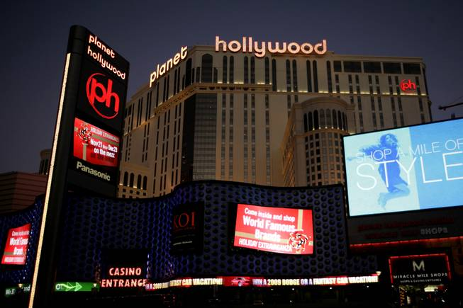 The Planet Hollywood resort on the Las Vegas Strip.