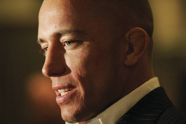 St. Pierre, shown in 2007, was voted Canadian Athlete of the Year in 2008. St. Pierre: I want to be thought of at the end of my career as the best pound-for-pound fighter that ever fought in MMA history.